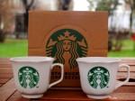 Подарочный набор кофейных чашек от Starbucks