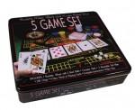 Настольная игра 5в1, 3044