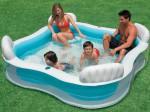 Семейный надувной бассейн Intex (229см х 229см х 66см)