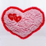 Подушка-Серце с Розами (35см)