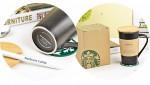 Чашка  «Sturbucks» c возможностью писать на ней + ложка + подставка