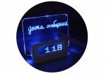 NEW! LED-Будильник с подсветкой и возможностью делать записи маркером