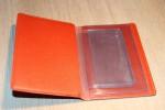 Обложка на водительское удостоверение Orange