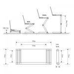 Столик для ноутбука с USB-вентиляторами (2шт.), 1211