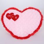 Подушка-Серце с Розами Red 35см