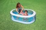 Детский надувной бассейн Intex «Морское приключение» (163см х 107см х 46см)
