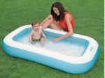 Детский надувной бассейн Intex «Ванночка» (163см х 100см х 28см)