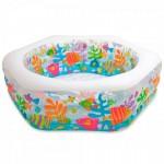 Детский надувной бассейн Intex «Brezze» (191см х 178см х 61см)