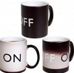 Чашка Хамелеон ON/OFF - меняет цвет и надпись - уже в продаже!