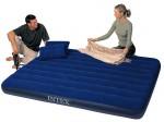 Оригинальный двухспальный матрас Интекс с  двумя подушками и насосом! Цена снижена!