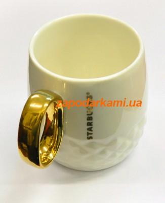 """Керамическая чашка """"Starbucks Gold"""""""