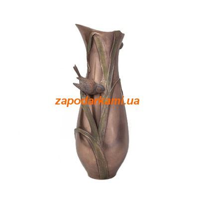 Декоративная ваза «Птица в тростнике»