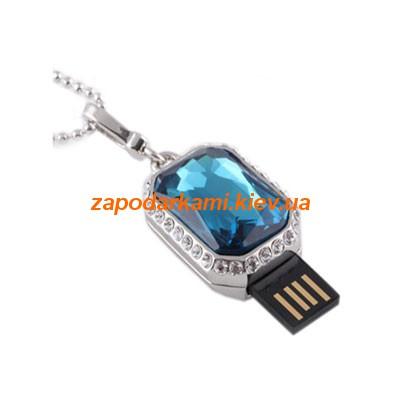 Ювелирная флешка «Синий бриллиант»