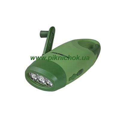 Динамо-фонарик с подзарядкой для мобильного телефона