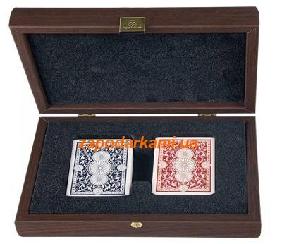 Игральные карты Manopoulos в деревянном футляре, 3003