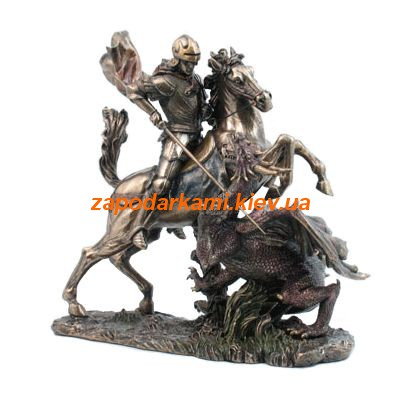 Статуэтка «Георгий Победоносец на коне»