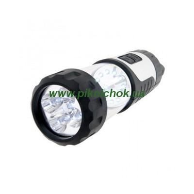 Динамо-фонарик с подзарядкой от 12В