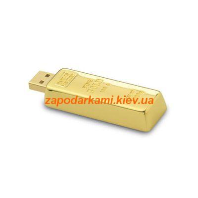 Оригинальная флешка «Золотой слиток»