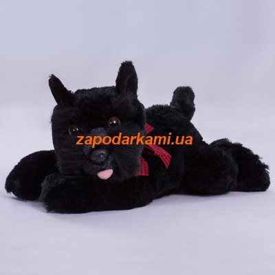 Мягкая игрушка собачка Блеки (23 см)