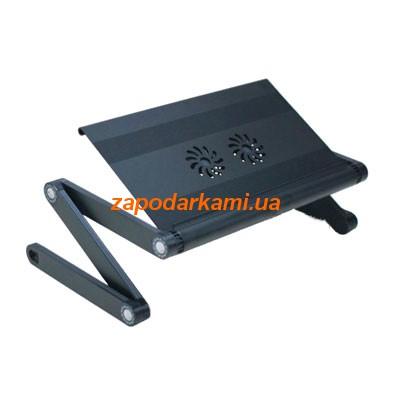 Столик-трансформер для ноутбука с вентиляторами и USB-хабом, 2162