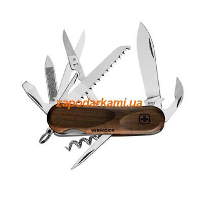 Швейцарский складной армейский нож Wenger EvoWood, 2365