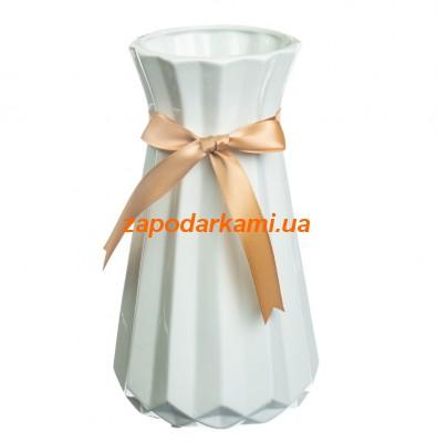 Керамическая ваза «БАНТ»