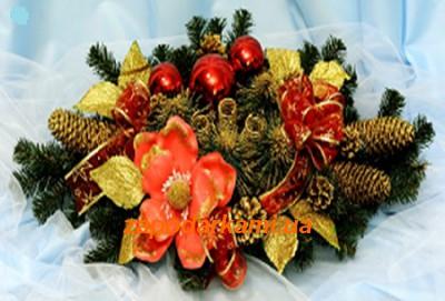 Огромный декорированный рождественский подсвечник «Exclusive» - 2 вида