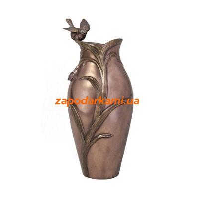 Декоративная ваза «Птица на орхидеи»