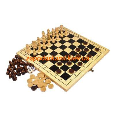 Игровой набор из 3 настольных игр, 1732