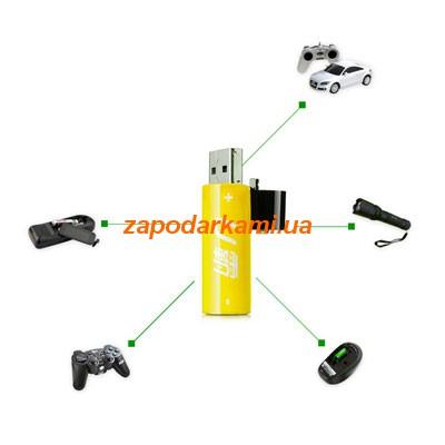 USB-аккумулятор АА (2 шт)