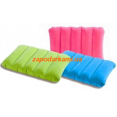 Надувная подушка Intex Colour