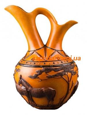 Декоративная ваза «Зебры»