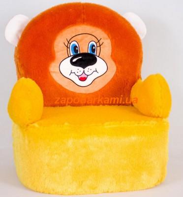 Кресло-игрушка Лев Джим (60 х 50 х 42 см)