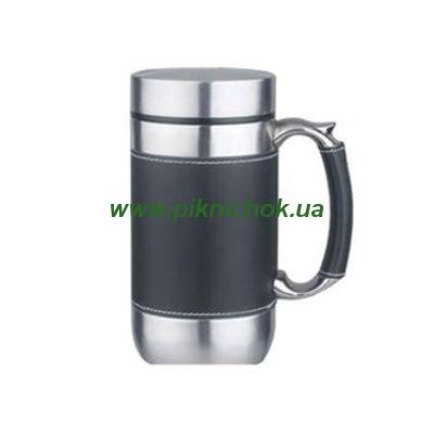Термокружка с сеточкой для чая (450мл)
