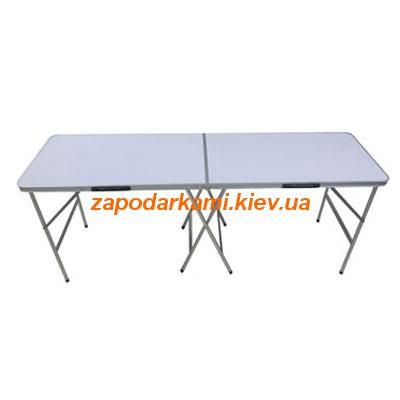 Раскладной стол 198х60 см