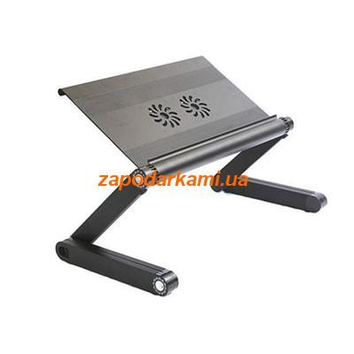 Столик-трансформер LONG с USB-вентиляторами для ноутбука, 2352