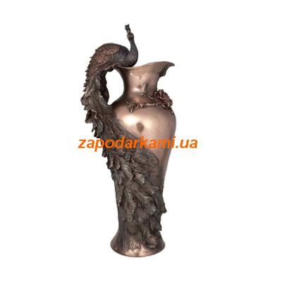 Декоративная ваза «Павлин»