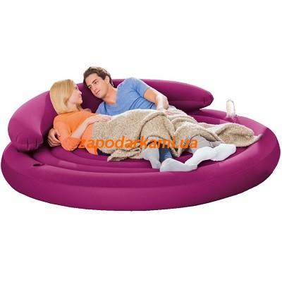 Надувной диван-кровать Intex (диаметр-191см)
