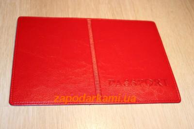 Обложка на паспорт Red super gloss