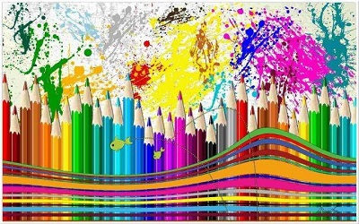День цветных карандашей