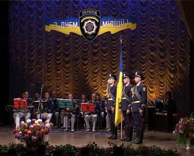 День милиции Украины